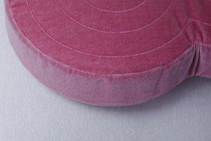 画像2: 古墳クッション ラージ ピンク◆はるこ(桜の古墳)◆